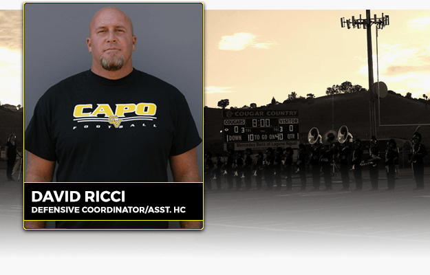 Coach David Ricci