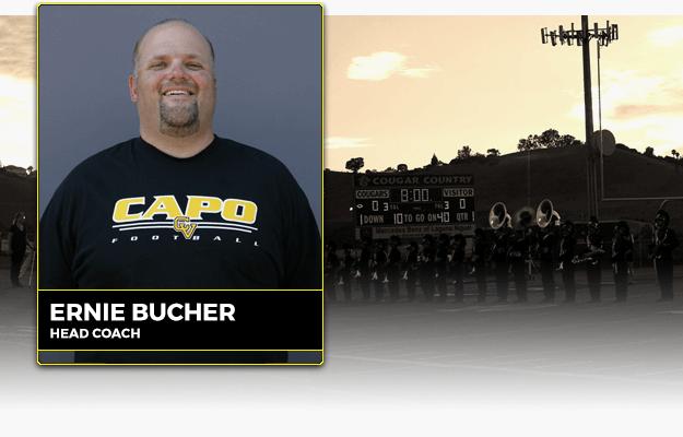 Coach Ernie Bucher