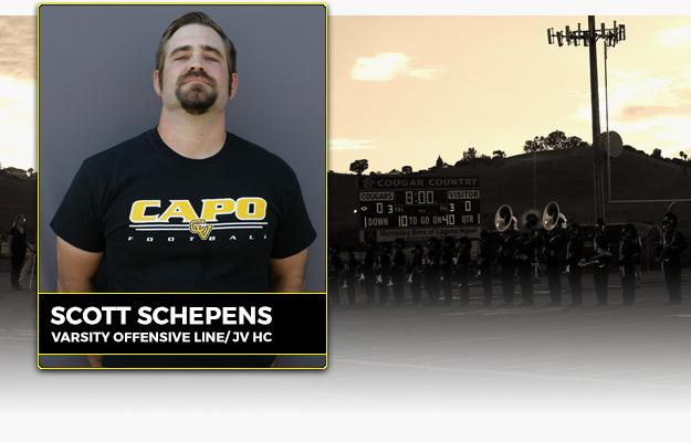 Coach Scott Schepens