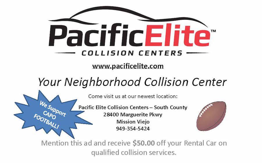 Pacific Elite Collision Centers - Capo Football