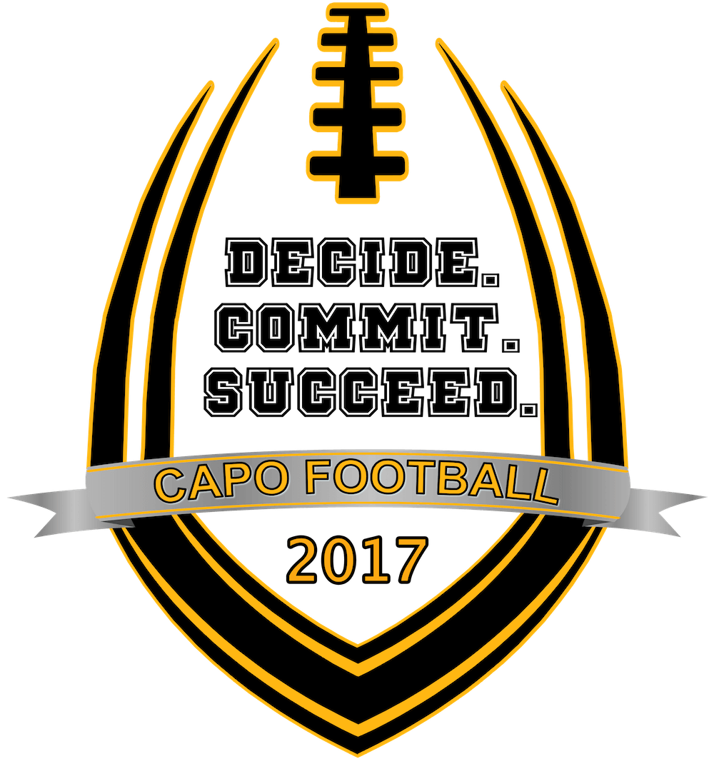 CAPO Football: Decide Commit Succeed