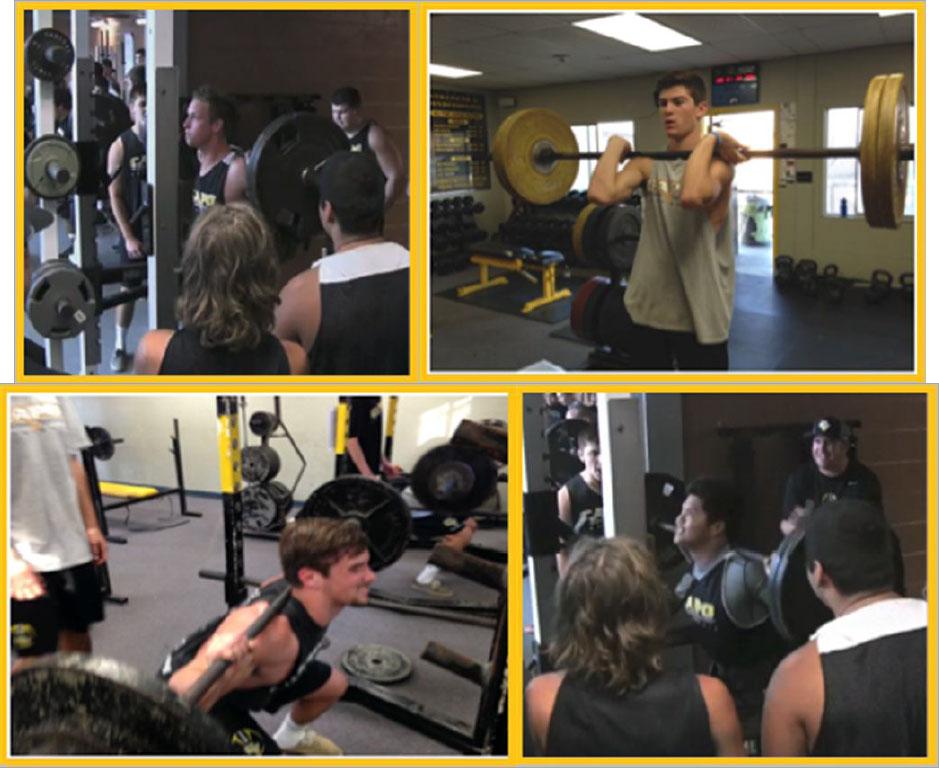 Junior High Weightlifting Camp 2018